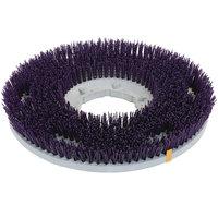 Carlisle 361300G60-5N Strata-Grit 13 inch Purple Nylon Rotary Stripping Brush