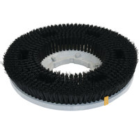 Carlisle 361200P22-5N Colortech 12 inch Black Polyester Rotary General Scrubbing Brush
