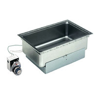 Wells SS206D Drop-In Rectangular Hot Food Well - Top Mount, Infinite Control, 120V
