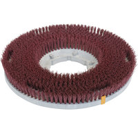 Carlisle 361500G22-5N Colortech 15 inch Red Nylon Rotary Scrubbing Brush