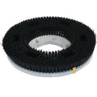 Carlisle 361400P22-5N Colortech 14 inch Black Polypropylene Rotary General Scrubbing Brush