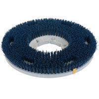 Carlisle 361500G35-5N Colortech 15 inch Blue Nylon Rotary Scrubbing Brush
