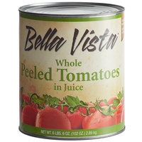 Bella Vista #10 Can Standard Whole Peeled Tomatoes - 6/Case