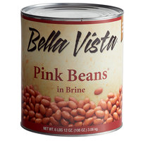 Bella Vista #10 Can Pink Beans in Brine - 6/Case