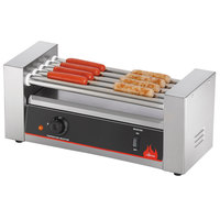 Vollrath 40820 12 Hot Dog Roller Grill with 5 Rollers - 120V, 400W