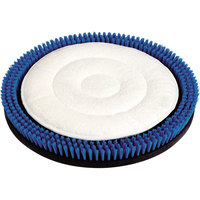 Carlisle 361500DNB 15 inch Microfiber Carpet Cleaning Replacement Bonnet for Dirt Napper System