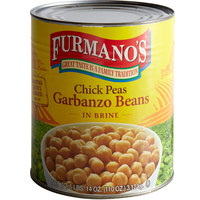 Furmano's Extra-Fancy Chick Peas (Garbanzo Beans) #10 Can