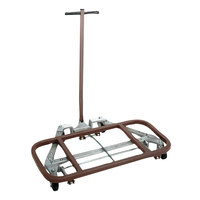 Wesco Industrial Products 272155 Desk Mover with 2 1/2 inch Swivel Casters - 600 lb. Capacity