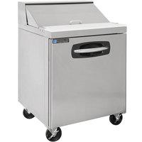 Master-Bilt MBSP27-8A-019 27 inch 1 Door Refrigerated Sandwich Prep Table