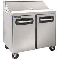 Master-Bilt MBSP36-10A-019 36 inch 2 Door Refrigerated Sandwich Prep Table