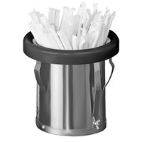 Tomlinson 1003990 ELC9006 Small In-Counter Stainless Steel Straw Holder