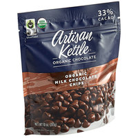 Artisan Kettle 10 oz. Organic Milk .9M Chocolate Chips - 6/Case