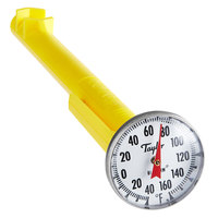 Taylor 6076J 5 inch Superior Grade Instant Read Pocket Probe Dial Thermometer -40 to 160 Degrees Fahrenheit