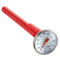 Taylor 3517 4 1/2 inch Instant Read Pocket Probe Dial Thermometer 50 to 550 Degrees Fahrenheit
