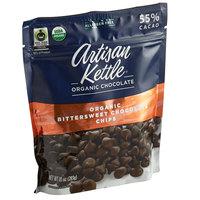 Artisan Kettle 10 oz. Organic Bittersweet .6M Chocolate Chips - 6/Case