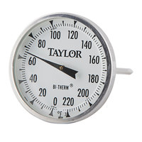Taylor 61054J 4 inch Probe Dial Meat Thermometer