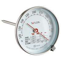 Taylor 5939N 5 1/2 inch Probe Dial Meat Thermometer