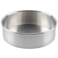 Baker's Mark 8 inch x 2 inch Aluminum Cheesecake Pan with Removable Bottom