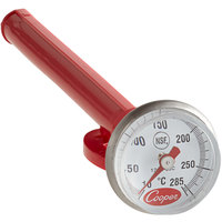 Cooper-Atkins 1246-03C-1 5 inch Pocket Probe Dial Thermometer, 10 - 285 Degrees Celsius