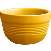 Acopa Capri 8 oz. Mango Orange China Bouillon - 36/Case