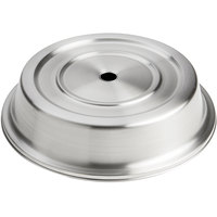 American Metalcraft PC1112S 11 inch-11 1/8 inch Stainless Steel Satin Finish Plate Cover for Standard Foot Plates