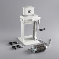 Backyard Pro MT-31 Butcher Series 31-Blade Meat Tenderizer with Jerky Slicer Blade Set, Two Legs, and Clamps