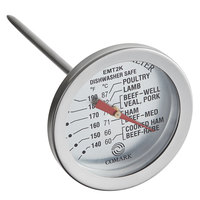 Comark EMT2K 4 1/4 inch Probe Dial Meat Thermometer