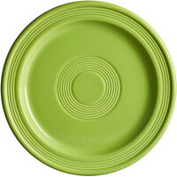 Acopa Capri 9 inch Bamboo Green China Plate - 12/Case