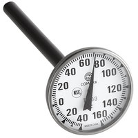 Comark T160/3 5 inch Pocket Probe Dial Thermometer -40 to 160 Degrees Fahrenheit
