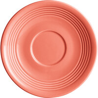 Acopa Capri 6 inch Coral Reef China Saucer - 12/Pack