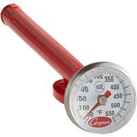 Cooper-Atkins 1246-03-1 5 inch Pocket Probe Dial Thermometer, 50 to 550 Degrees Fahrenheit