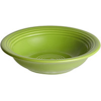 Acopa Capri 4.5 oz. Bamboo Green China Fruit Bowl / Monkey Dish - 12/Pack