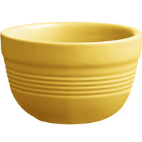 Acopa Capri 8 oz. Citrus Yellow China Bouillon - 12/Pack