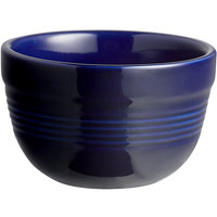 Acopa Capri 8 oz. Deep Sea Cobalt China Bouillon - 36/Case