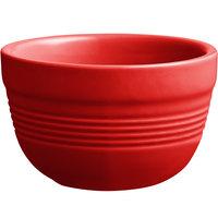 Acopa Capri 8 oz. Passion Fruit Red China Bouillon - 12/Pack
