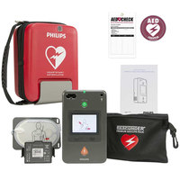 Philips 861388-C01 HeartStart FR3 Semi-Automatic AED with Text Display