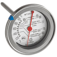 Comark MT200K 4 1/2 inch Probe Dial Meat Thermometer