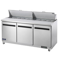 Arctic Air AMT72R 72 inch Mega Top Sandwich / Salad Prep Table