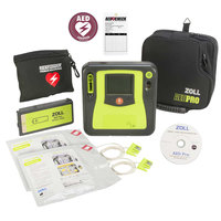 Zoll AED Pro Semi-Automatic AED with Manual Override, Text and Voice