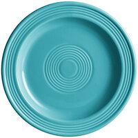 Acopa Capri 7 inch Caribbean Turquoise China Plate - 12/Pack