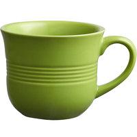Acopa Capri 8 oz. Bamboo Green China Cup - 12/Pack