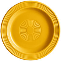 Acopa Capri 7 inch Mango Orange China Plate - 24/Case