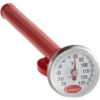 Cooper-Atkins 1236-17-1 5 inch Pocket Probe Dial Thermometer, 25 to 125 Degrees Fahrenheit