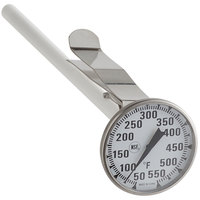 Comark T550/38A 8 inch Pocket Probe Dial Thermometer 50 to 550 Degrees Fahrenheit