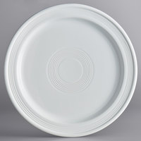 Acopa Capri 10 inch Coconut White China Plate - 12/Case