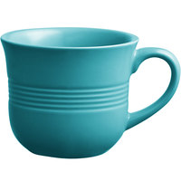 Acopa Capri 8 oz. Caribbean Turquoise China Cup - 36/Case