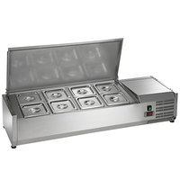 Arctic Air ACP48 48 inch Refrigerated Countertop Condiment Prep Station