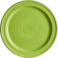 Acopa Capri 10 inch Bamboo Green China Plate - 12/Case