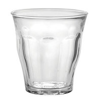 Duralex 1026AB06 Picardie 7.75 oz. Glass Tumbler - 6/Pack