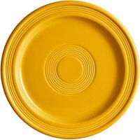 Acopa Capri 9 inch Mango Orange China Plate - 12/Case